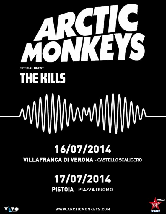 Italy shows with Arctic Monkeys!