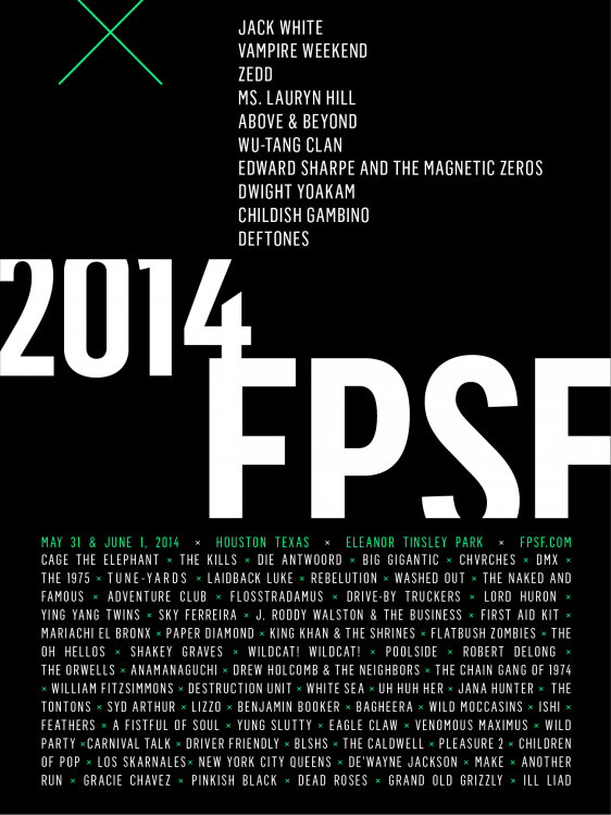 Free Press Summer Festival in Houston announced!