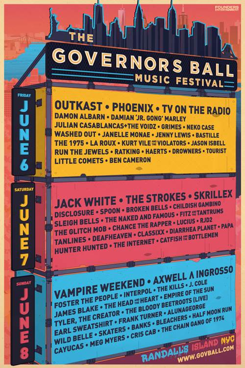 Governors Ball NYC Update!