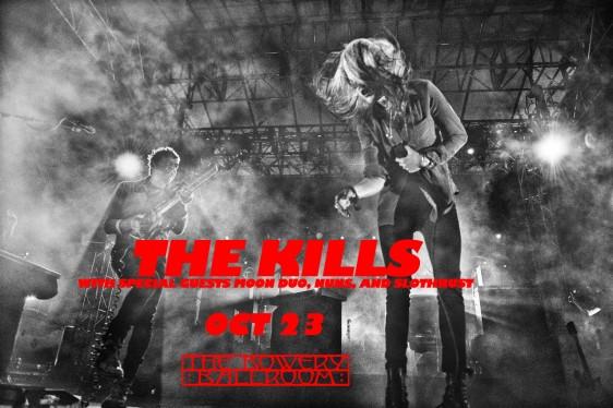 The Kills at The Bowery Ballroom NYC!