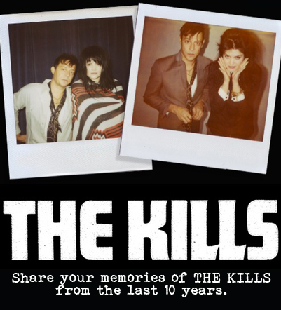 WE WANT TO SEE YOUR KILLS MEMORIES FROM THE LAST 10 YEARS