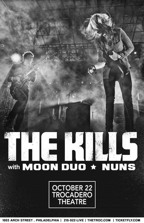 The Kills Philadelphia show added!