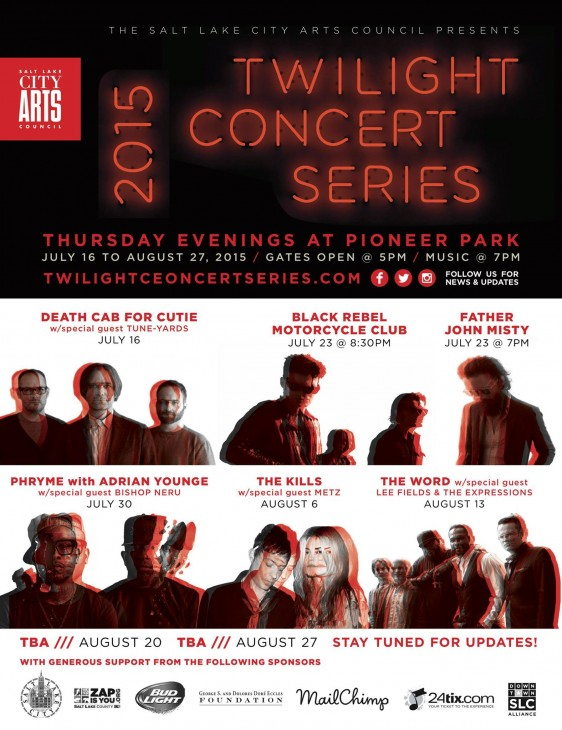 Salt Lake City Twilight Concert series