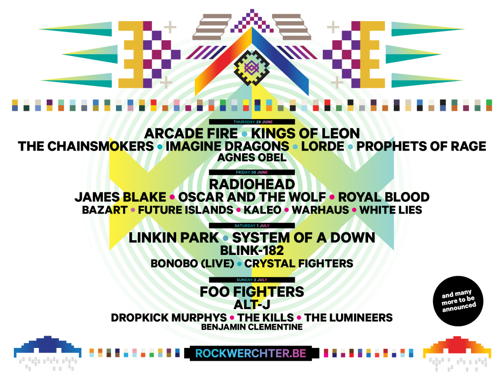 Rock Werchter, Belgium July 2nd with Foo Fighters