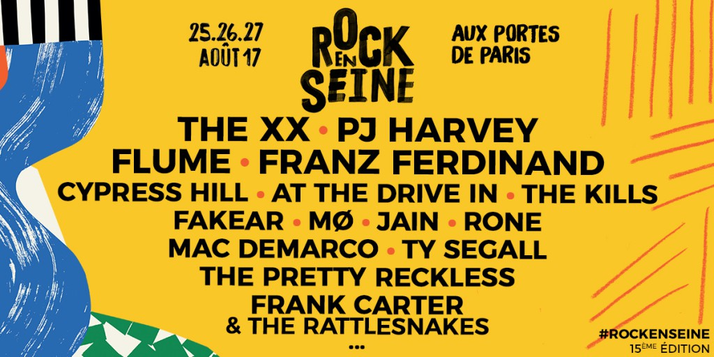 Rocke En Seine Paris August 26th
