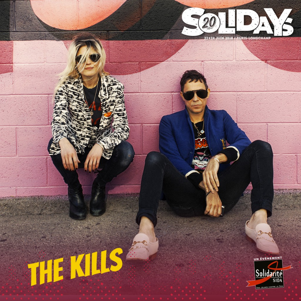 Just announced: Solidays Festival Paris Sunday 24th June.