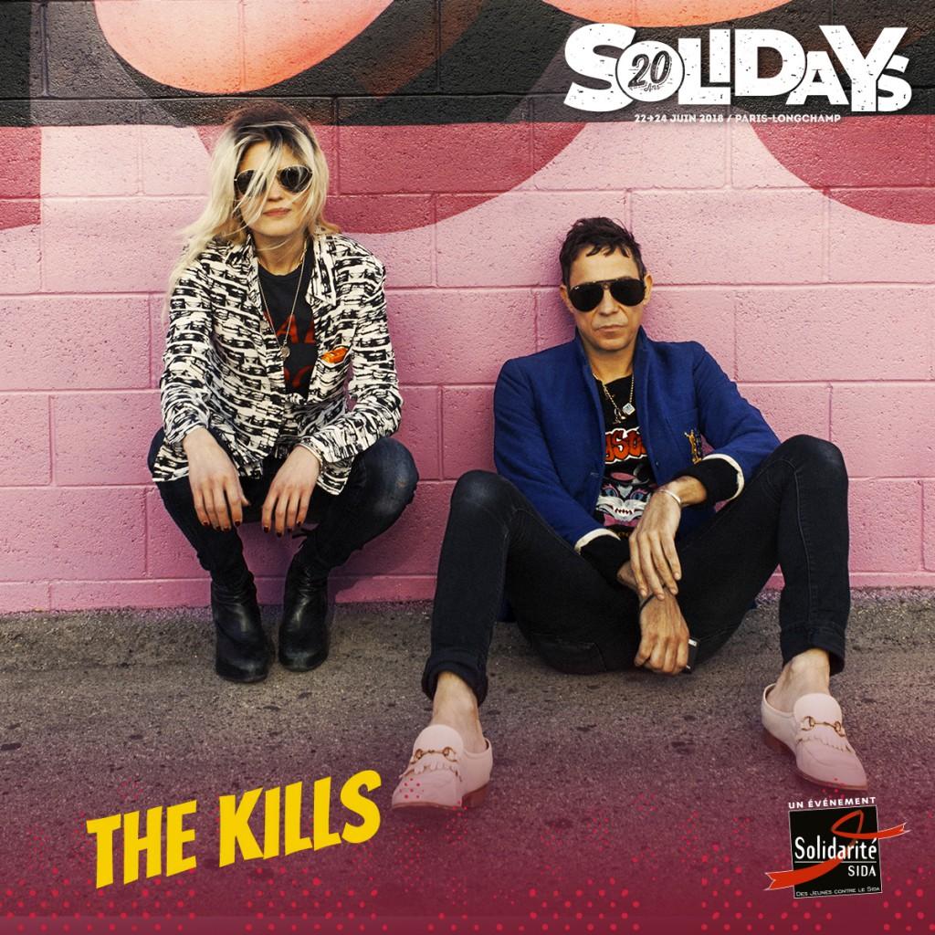 Just announced: Solidays Festival Paris Sunday 24th June.