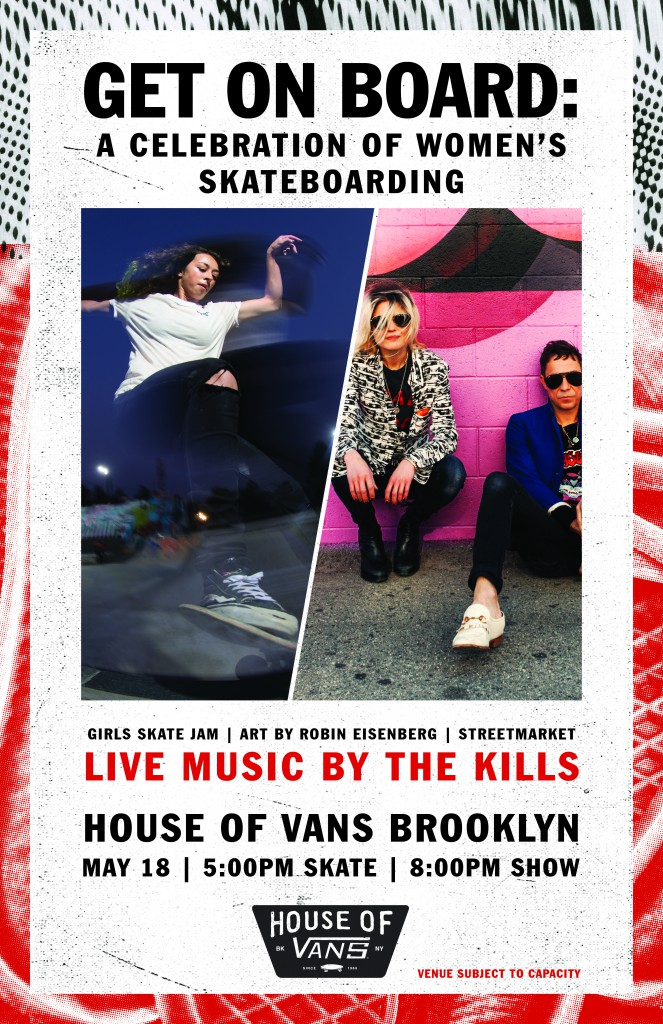 Free shows at House of Vans in Brooklyn and Chicago.